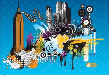 Urban Vectors - vector gratuit #152051