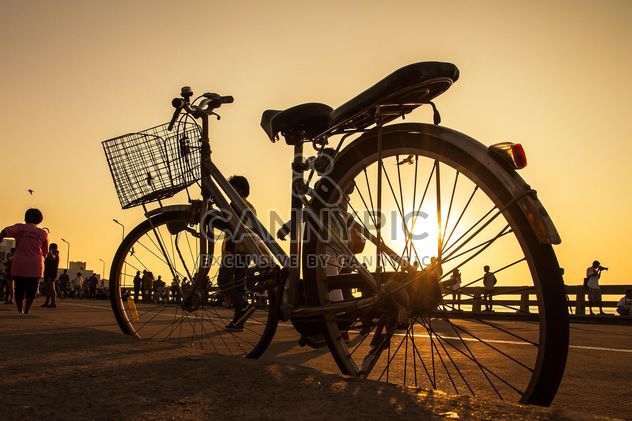 Bicycle on the shore - Free image #152561