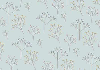Tree Pattern Background - vector gratuit #152591