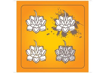 Lotus Flowers - Free vector #152601