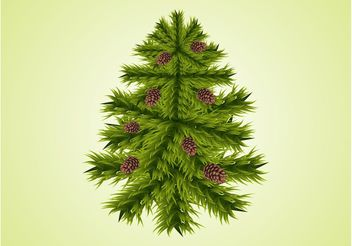 Fir Tree Vector - Free vector #152621