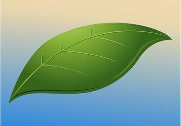 Leaf - vector #153071 gratis
