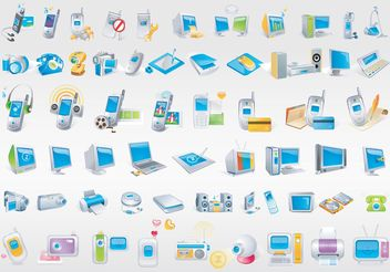 Free Technology Vectors - Free vector #153561