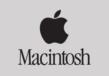 Macintosh - Free vector #153581