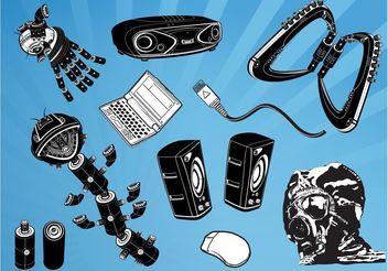 Cool Gadgets Vectors - Kostenloses vector #153701
