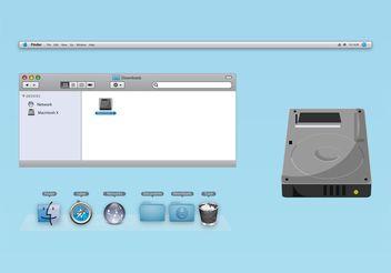 OS X Vectors - Free vector #153731