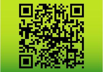 QR Code Vector - Free vector #153761
