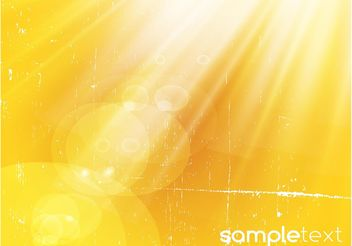 Yellow Light Rays Background - Kostenloses vector #153951
