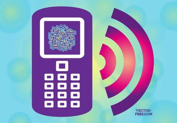 Free Smart Phone Icon - vector #154191 gratis