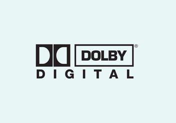Dolby Digital - vector gratuit #154201