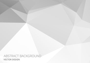 White Abstract Style Background Vector - Free vector #154381