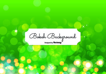 Abstract Bokeh Background Illustration - Free vector #154421
