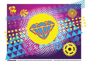 Cool Vector Design Shapes - Free vector #154591
