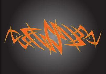 Abstract Tattoo Design - бесплатный vector #154731