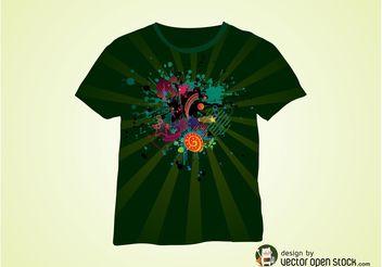 Vector T-Shirt Design - Free vector #155051