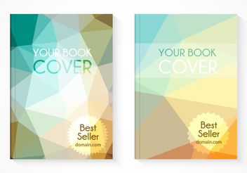Free Best Seller Book Cover Vector Set - Free vector #155101