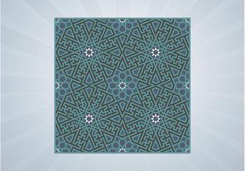 Mosaic Tile Vector - Free vector #155301