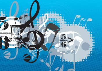 Music Composition - vector gratuit #155451