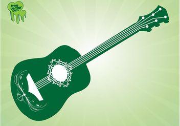 Vector Guitar - Kostenloses vector #155621