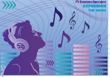 Music Experience Vector - vector gratuit #155651