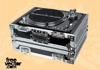 DJ Equipment Vector - Kostenloses vector #155761