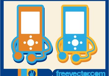 MP3 Player Icon - vector gratuit #155931