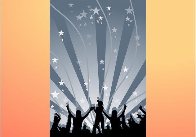 Dancing Background - Free vector #156021
