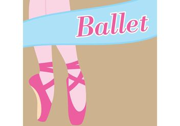 Ballet Vector Background - Free vector #156131