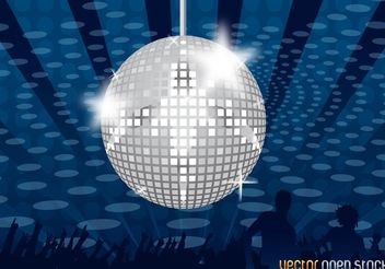 Mirror Ball - vector gratuit #156221