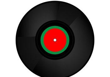Free vinyl record - Free vector #156461