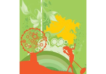 Beautiful Day Vector - бесплатный vector #156511
