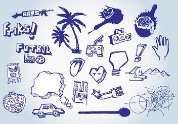 Free Doodles Vectors - Free vector #156671