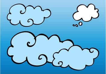 Vector Clouds - Free vector #156801