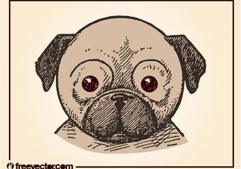 Puppy Vector - Kostenloses vector #156861