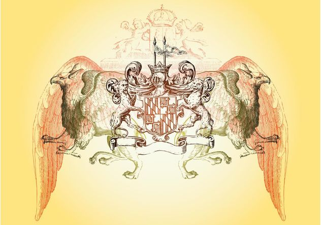 Heraldry Layout - vector #157101 gratis