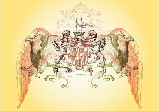 Heraldry Layout - бесплатный vector #157101