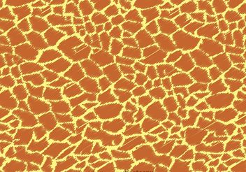 Giraffe Print Pattern Vector - vector #157291 gratis