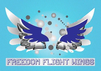 Freedom Wings - Free vector #157361