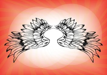 Free Wings Vector Download - Free vector #157461