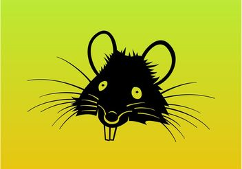 Rat Cartoon Vector - Free vector #157501