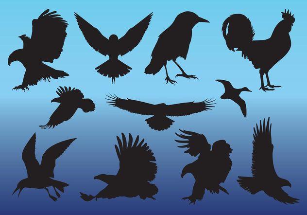 Free Birds Vectors - Free vector #157631