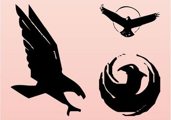 Birds Logos - vector #157641 gratis