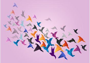 Paper Birds - Kostenloses vector #157711