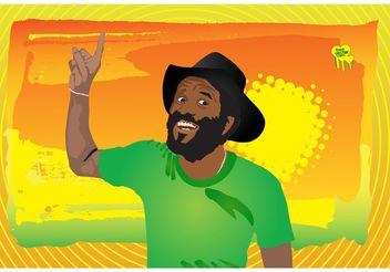 Reggae Man - бесплатный vector #158071