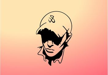 Vector Boy With Hat - Free vector #158231