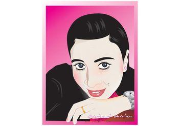 Asri Arfah - Woman Vector - Free vector #158511