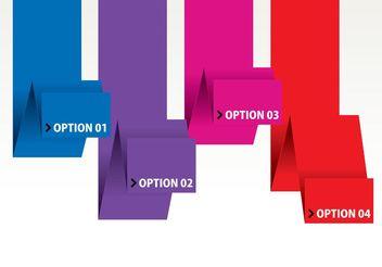 Modern Design Template Vector - Free vector #158721