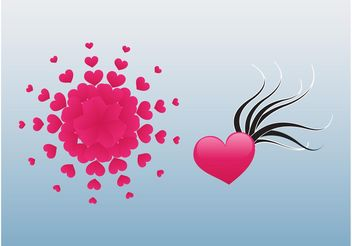 Heart Designs - vector gratuit #158771