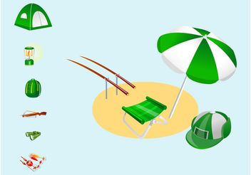 Gone Fishing - vector #158911 gratis