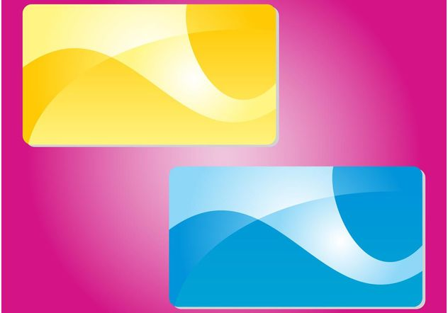 Abstract Colorful Cards - vector #159011 gratis